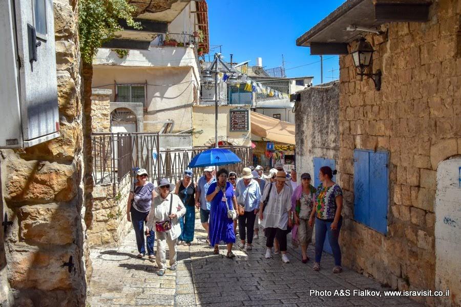 Экскурсия с израильским гидом Светланой Фиалковой в друзском городе Пкиин.