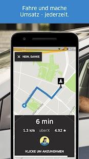 Uber Driver - für Fahrer Screenshot
