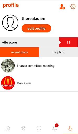 INvite - make plans 1.6.1 screenshots 6