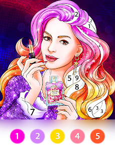 Coloring Fun : Color by Number Games 7