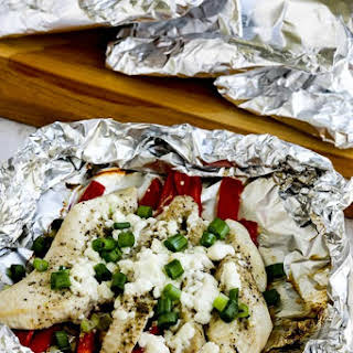 Low-Carb Grilled Greek Chicken Packets.