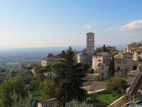 Photo: Beautiful Panoramic view of the city and churches