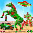 Demolition Derby Car Transform Horse Robot Games
