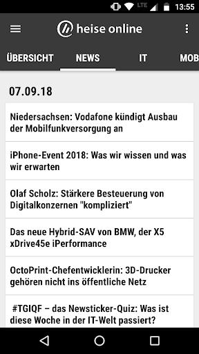 heise online - News 3.4.2 screenshots 4