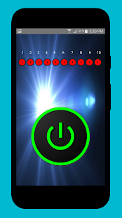 LED Flashlight & Digital Compass - náhled