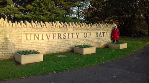 Prof Linda du Plessis during an earlier visit to the University of Bath in the United Kingdom.