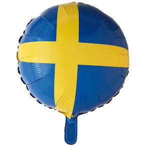 Folieballong, Sverige rund