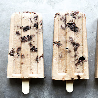 Guinness Popsicles with Irish Cream Soaked Brownies Recipe