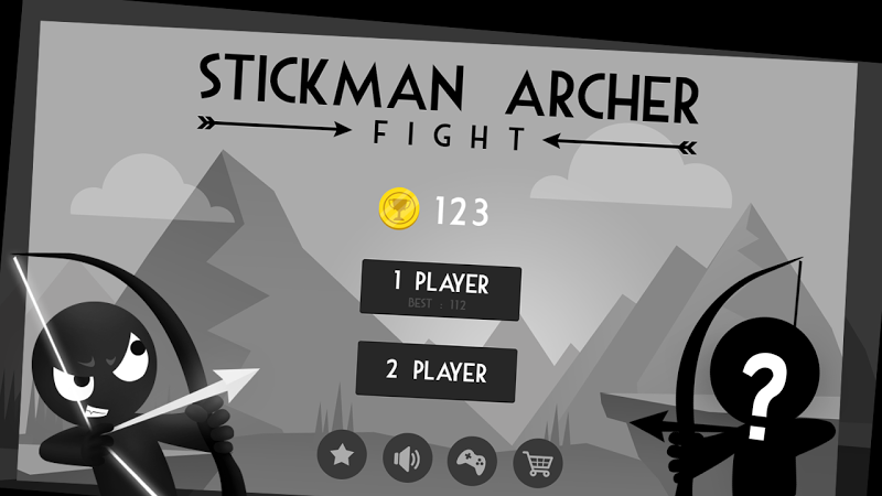 Stickman Archer Fight Screenshot 0