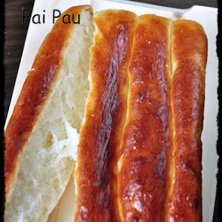 Pai Pau ( Hongkong Famous Sweet Bread)