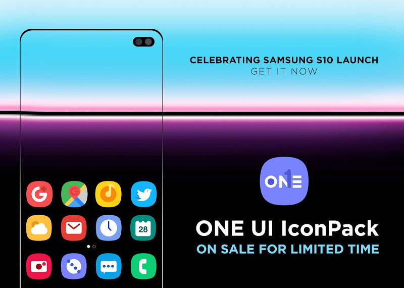 ONE UI Icon Pack : S10 v1.9.1 [Patched] APK [Latest]
