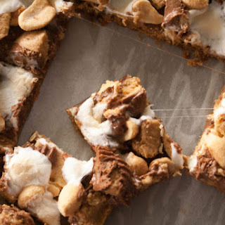 Reese's Smores Cookie Bars