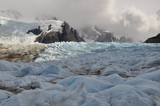 Photo: Rain, storm and sunshine all next to each other... welcome to Patagonian weather!