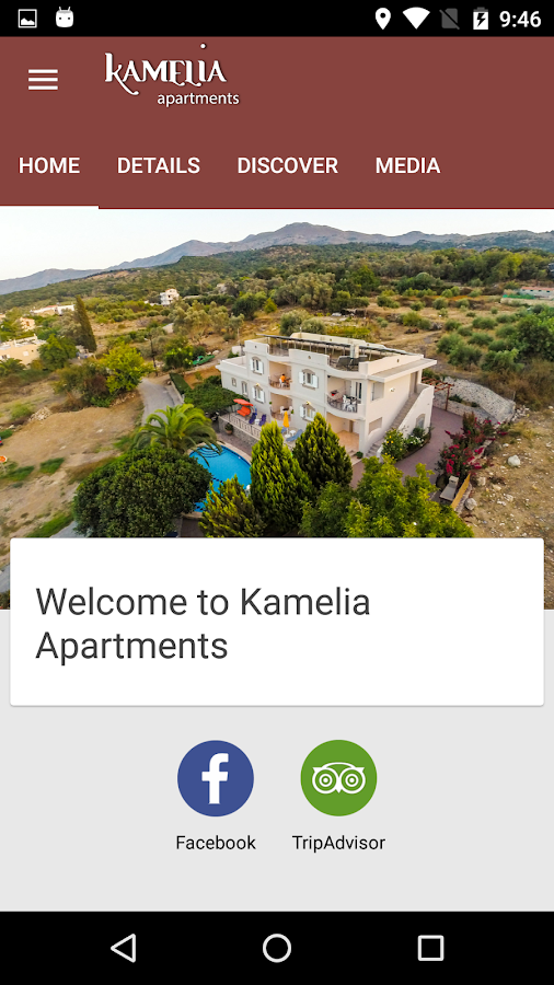 Kamelia Apartments- screenshot