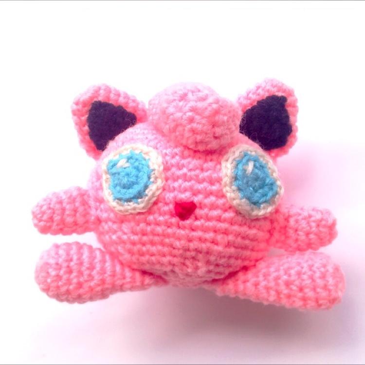 Crochet Jigglypuff by Ricincraft