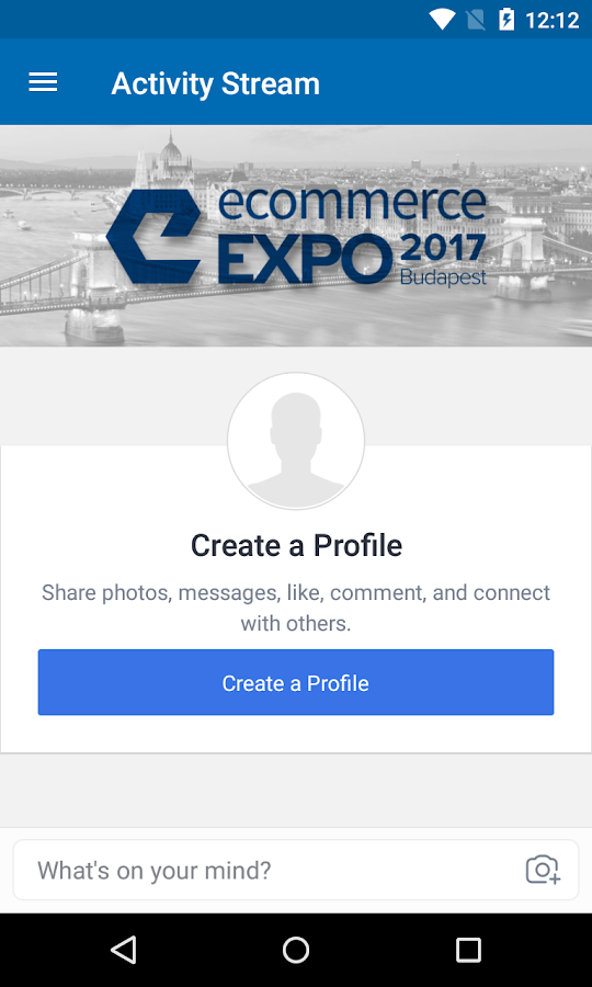 Ecommerce Expo Budapest 2017- screenshot