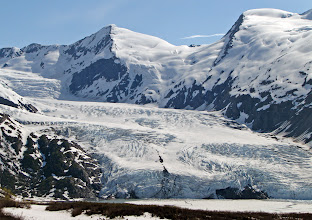 Photo: Portage Glacier (from Portage Pass)