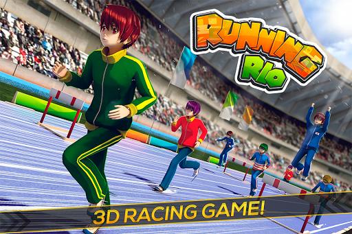 Running Rio Athletics Games