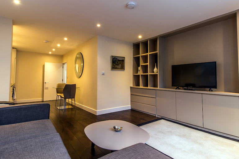 Comfy living space at Artillery Lane