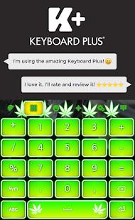 Weed Keyboard HD - náhled