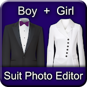 Boy and Girl Suit Photo Editor
