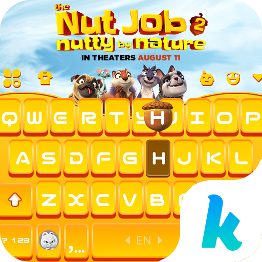 Nut Job 2 Keyboard & Stickers App