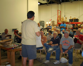 Photo: There was a full house for the coring demo.
