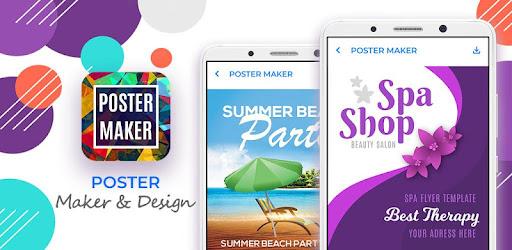 poster maker flyer designer banner maker app apk free download