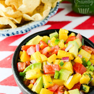 Tropical Avocado Salsa