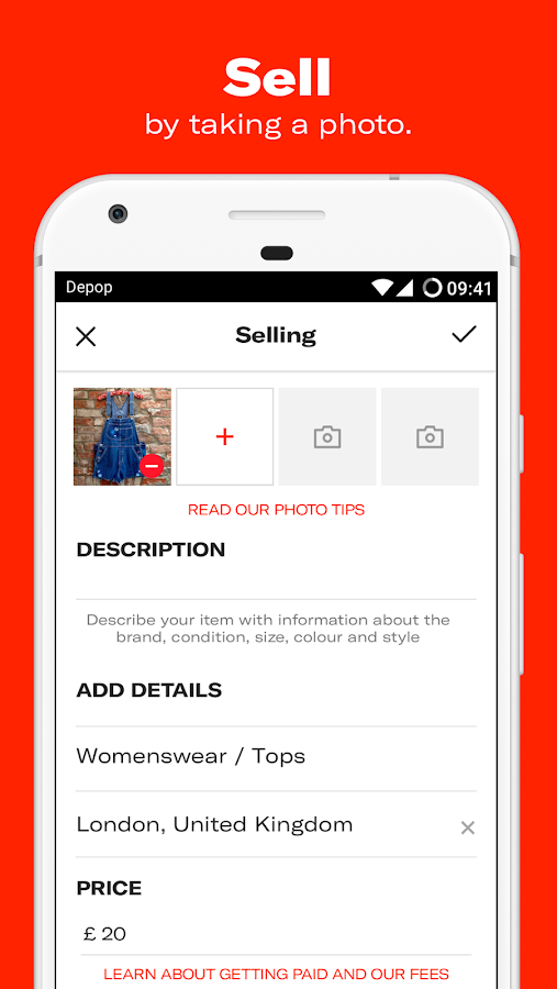 Depop - Buy, Sell, Discover and Share- screenshot