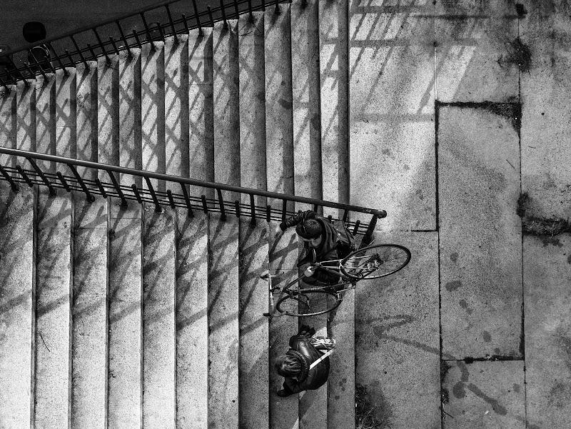 Su per le antiche scale di Caterina Ottomano