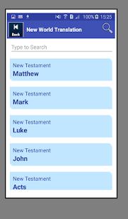 Holy Bible New World Translation - náhled