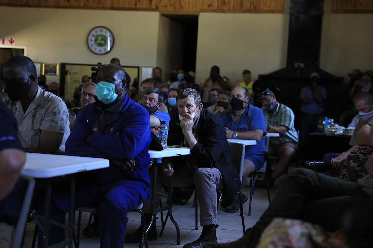 Farmers discuss farm murders and the racial tension sparked in the Free State.