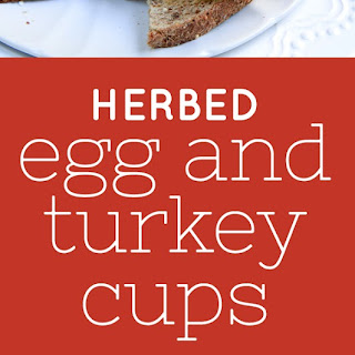 Goat Cheese, Turkey And Egg Cups.