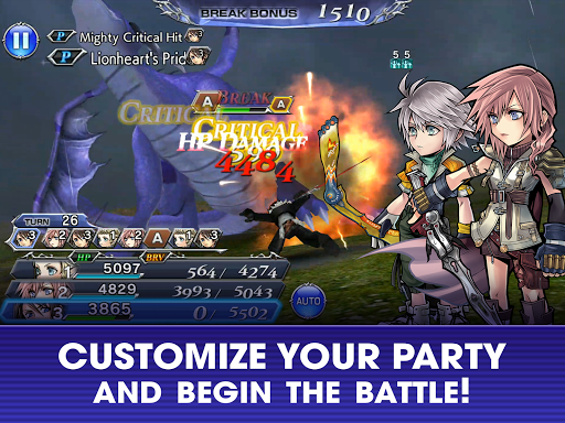 DISSIDIA FINAL FANTASY OPERA OMNIA 1.3.1 gameplay | by HackJr.Pw 10
