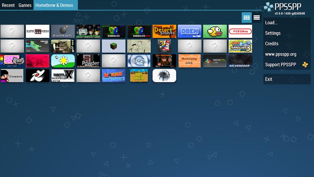 Screenshot - PPSSPP – PSP emulator
