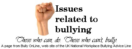 Photo: Constant nit-picking criticism, humiliation, taunts, threats, intimidation? See :  http://www.bullyonline.org/related/cyber.htm  &  http://tinyurl.com/72odgf3