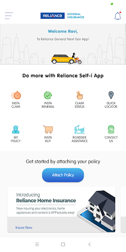 Reliance Self-i  screenshots 2