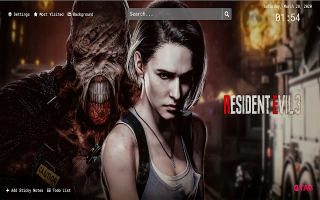 Resident Evil 3 Remake Wallpapers Hd New Tab