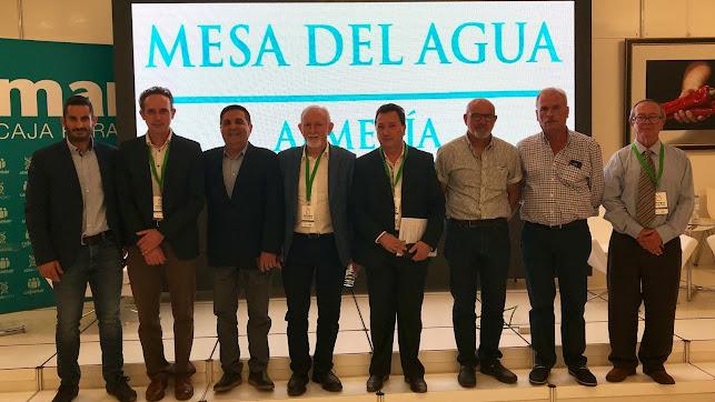 Varios de los ponentes en los debates sobre la gestión del agua