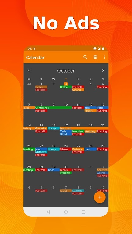 Simple Calendar Pro - Events & Reminders Manager  poster 0