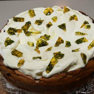 Gordon Ramsay's Chocolate Mint Caramel Cake.