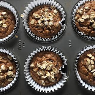 Gluten Free Banana Oat Blender Muffins.