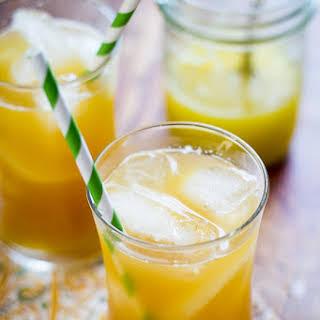 Pineapple Ginger Iced Tea.
