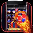 3D Barcelona Europe Football Theme