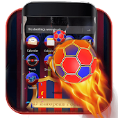 3D Barcelona Europe Football Theme