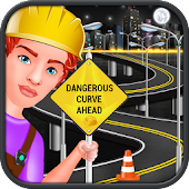 Road Construction In City – Builder Simulator