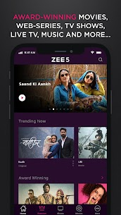 ZEE5 – Latest Movies, Originals & TV Shows (MOD, Premium) v17.0.0.6 1