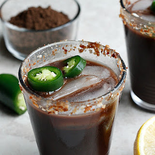 Jalapeno Chocolate Margaritas