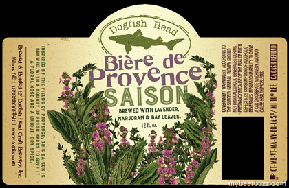 Logo of Dogfish Head Biere De Provence